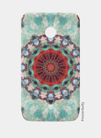 Moto E Cases, red kaleidoscope Moto E Case | Artist: harshad parab, - PosterGully