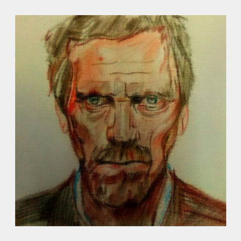 House MD Square Art Prints | Artist : Sukanya Chakraborty