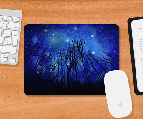 Mousepad, Night sky painting Mousepad | Artist : Kislaya Sinha, - PosterGully