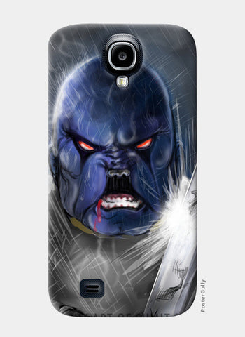 Samsung S4 Cases, Fierce Doga(RC) Samsung S4 Case | Artist : Draw On Demand, - PosterGully