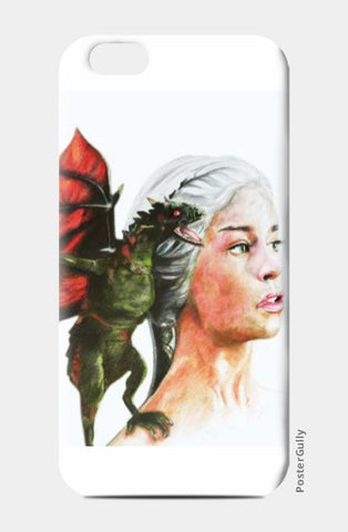 iPhone 6 / 6s, Khaleesi Game of Thrones iPhone 6 / 6s Case | Artist: Tridib Das, - PosterGully
