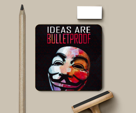 Coasters, Bulletproof Ideas Coaster | Artist: Deepak Gupta, - PosterGully