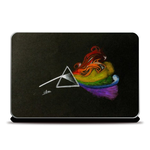 Pink Floyd Dark Side Of The Moon Laptop Skins | Artist : Rohan Jayant