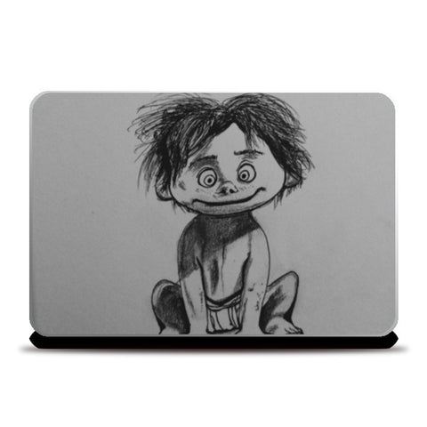 Spot- The Good Dinosaur Laptop Skins | Artist : Abhinav Moona