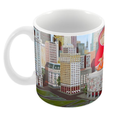 matrioska Coffee Mugs | Artist : federico cortese