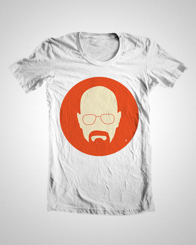 T Shirts, Breaking Bad Heisenberg Orange T-Shirt, - PosterGully