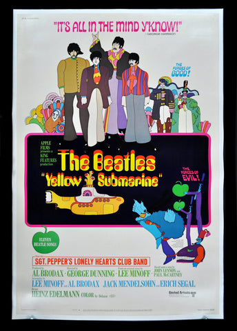 PosterGully Specials, The Beatles | Yellow Submarine Invite, - PosterGully