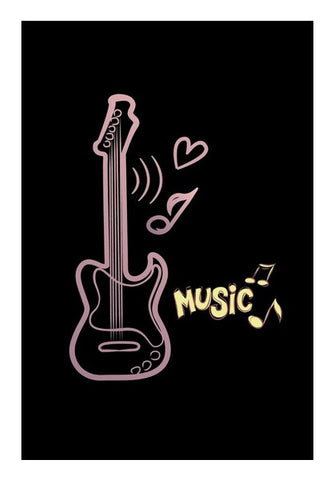 Wall Art, Music Wall Art | Artist : Anushree Jaiswal, - PosterGully