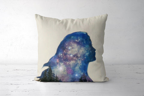 Galaxies Cushion Covers | Artist : Sukanya Chakraborty