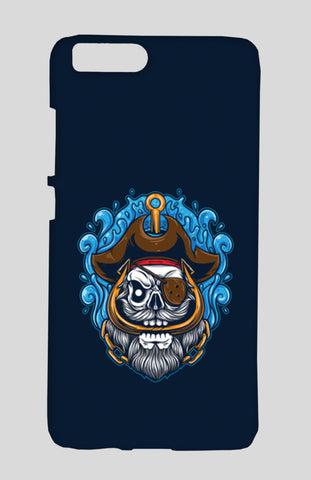 Skull Cartoon Pirate Xiaomi Mi-6 Cases | Artist : Inderpreet Singh