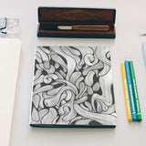 abstract doodle Notebook | Artist : Raj Patel