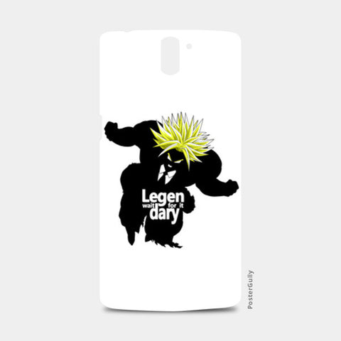 One Plus One Cases, Lege-wait for it-dary super saiyan One Plus One Case | Artist: Rahul Trivedi, - PosterGully