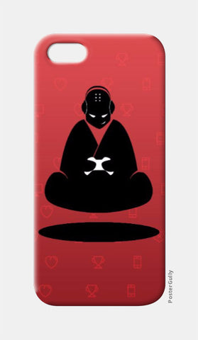 iPhone 5 Cases, Red Monk iPhone 5 Case | Artist: GamingMonk, - PosterGully