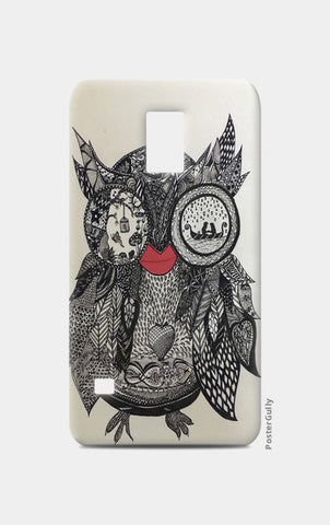 The Mystic Owl Samsung S5 Cases | Artist : Quirky Designs by Priyanka Singhania