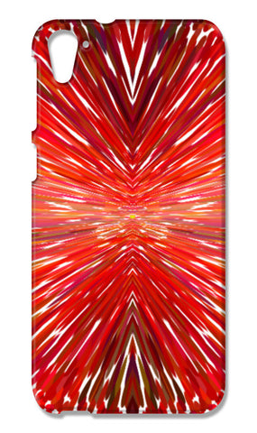 Abstract Red Burst Modern Design HTC Desire 826 Cases | Artist : Seema Hooda