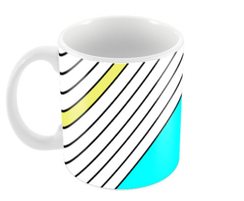 Pastel Geometry Coffee Mugs | Artist : Vaishak Seraphim