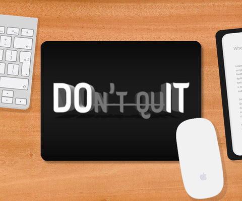 Do It Now Mousepad | Artist : Ajay Seth