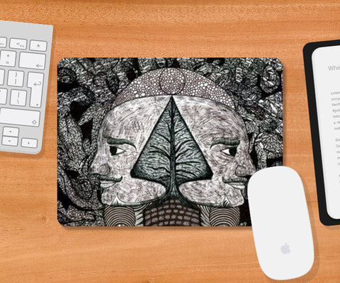 Mousepad, Dreams of the Post Apocalyptic Vol.I Mousepad | Artist : Luke's Art Voyage, - PosterGully
