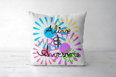 Alive and awesome Cushion Covers | Artist : Keshava Shukla