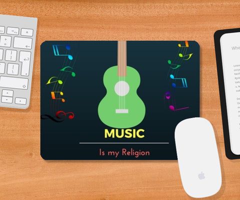 Music is my Religion Mousepad | Artist : Pallavi Rawal