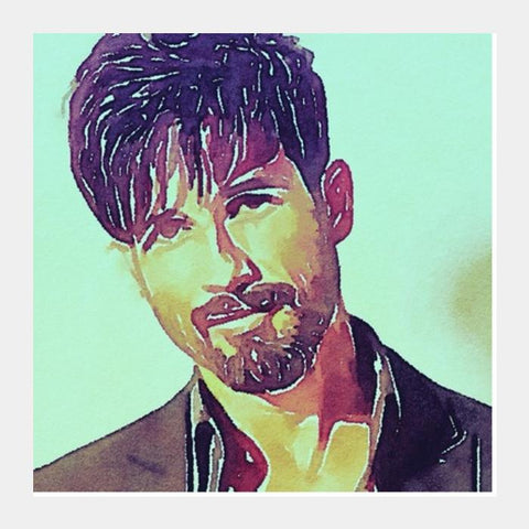 Shahid Kapoor Square Art Prints PosterGully Specials