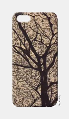 iPhone 5 Cases, Trees Ink Trails iPhone 5 Case | Artist: Archana Narendran, - PosterGully