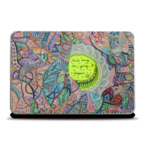 Laptop Skins, Good things Laptop Skins | Artist : Himani Chhabra, - PosterGully
