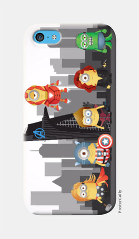 iPhone 5c Cases, Minion Avengers iPhone 5c case | Artist: Ronak Mantri, - PosterGully
