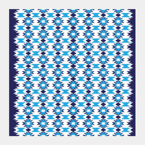 Woven Pattern 4.0 Square Art Prints PosterGully Specials