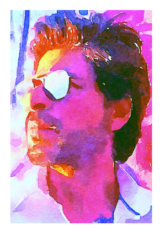 Shahrukh Khan Wall Art | Artist : Delusion