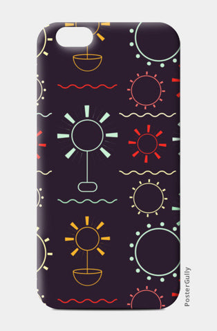 Geometric art seamless  iPhone 6/6S Cases | Artist : Designerchennai