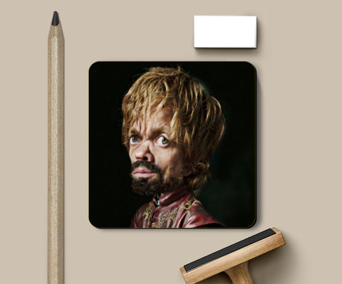 Coasters, Tyrion Lannister coaster | Artist: Abhishek Faujdar, - PosterGully