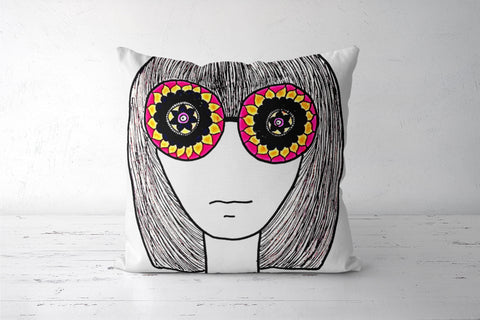Retro Cushion Covers | Artist : Megha Vohra