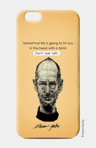 iPhone 6 / 6s, Steve Jobs iPhone 6 / 6s Case | Artist Name: Pushkar Priyadarshi, - PosterGully