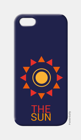 The sun iPhone 5 Cases | Artist : Akash Gutha