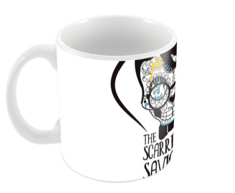 The Scarred Saviour-Harry Potter Coffee Mugs | Artist : Abhay Sigh Sengar