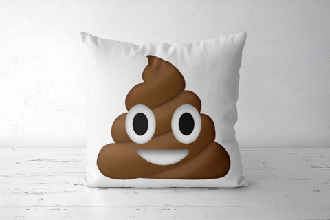 poop emoji Cushion Covers | Artist : Colour me expressive