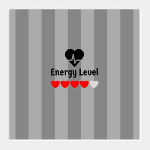 ENERGY Level Square Art Prints PosterGully Specials