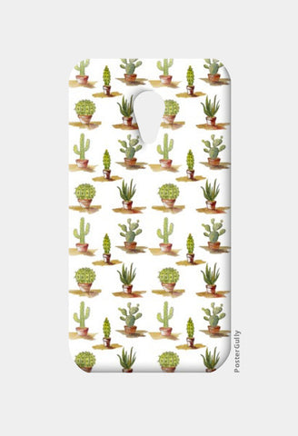 Moto G2 Cases, Cute Cactus Plants Pattern Moto G2 Cases | Artist : Seema Hooda, - PosterGully