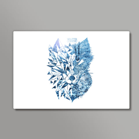 Game Of Thrones | Wolf Metal Prints | Artist : Pragya Bhandari