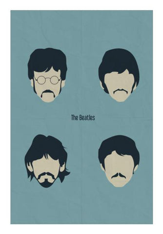 PosterGully Specials, The Beatles Wall Art | Artist : Arif Ahmad, - PosterGully