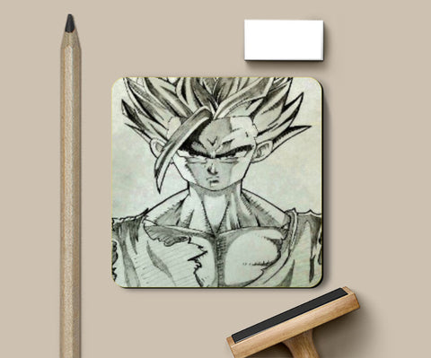 Coasters, Gohan Dragon Ball Z Coaster | Artist: Aastha, - PosterGully