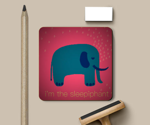 Coasters, The Sleepiphant Coaster | Artist: saurabhzuve, - PosterGully