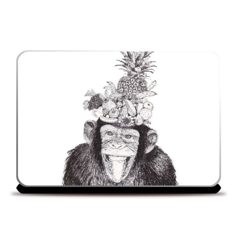 Laptop Skins, Chill Monkey Laptop Skin | Artist: Vinayak Dasari, - PosterGully