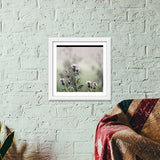 Blooming Flowers Premium Square Italian Wooden Frames | Artist : ashman's