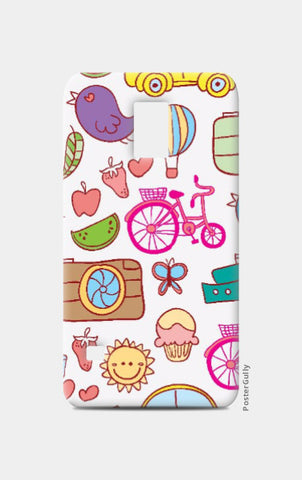 Samsung S5 Cases, Colorful Doodles Samsung S5 Case | Artist: Pratyusha Subramaniam, - PosterGully