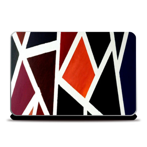 Shades | Abstract - Oil Painting Laptop Skins | Artist : Nandini Rawat