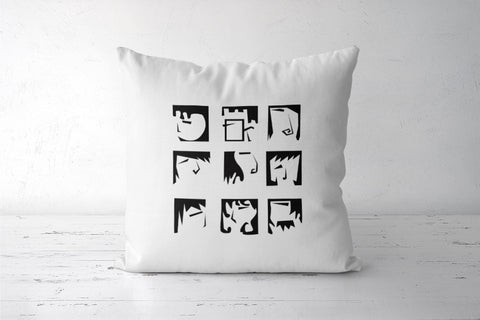 Expressions Cushion Covers | Artist : Anagha Varma