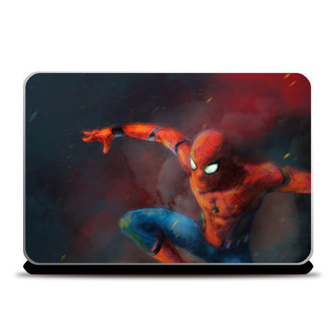 Spider Man Homecoming  Laptop Skins | Artist : Anupam Prasoon