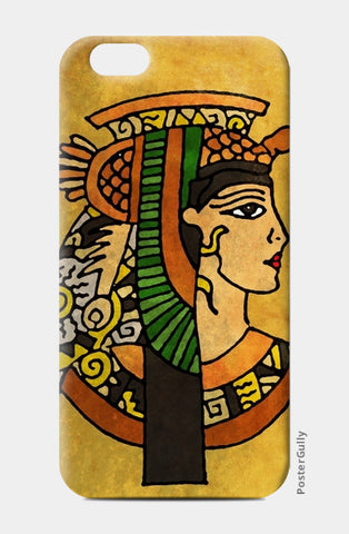 iPhone 6 / 6s, Cleopatra Zenscrawl iPhone 6 / 6s Case  | Artist : Meghnanimous, - PosterGully